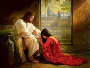 Jesus and his best ho, Mary Magdalene.