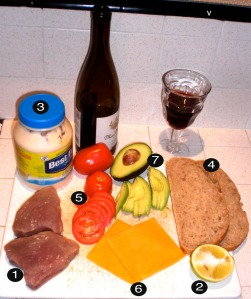 tuna-melt-prep