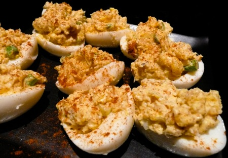 You will become possessed by the deviled eggs!