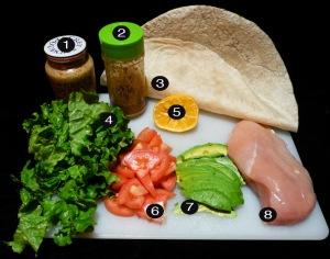 salad-wrap-prep