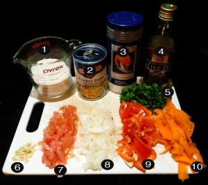 spanish-rice-toast-prep