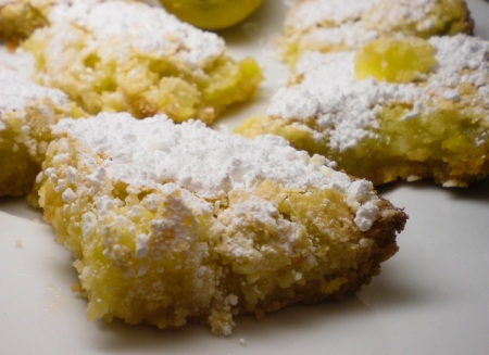 These are lemon bar none the best way to make somone sweet into a tart