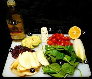 roquefort-salad-prep