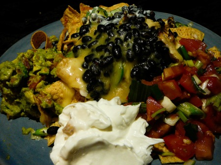 Naked Nacho Naughtiness needs no non-naked nonsense.