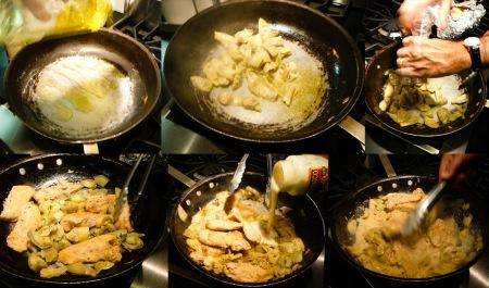 artichoke chicken veggie sauce