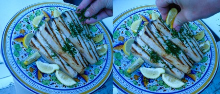 grilled swordfish squeeze