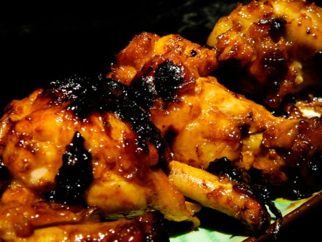 chicken wing fling served 2