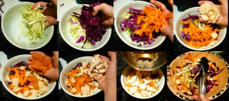 chinese chicken salad toss