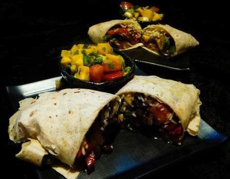 Get the best Dank Organic Veggie Burrito on Phish tour!