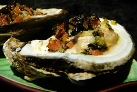 oysters bang-a-feller served 2