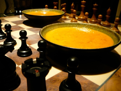 "With this soup, you'll always say, ""Check mate!"""