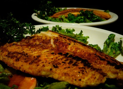 Blackened Catfish, blacker heart
