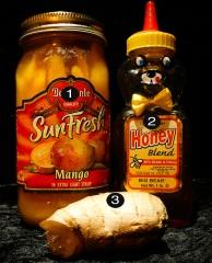 mango ginger pornsicles prep