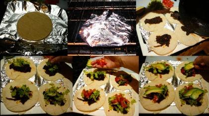 potobello tacos assemble