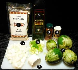 squash casserole prep