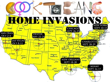 CTB HOME INVASIONS poster