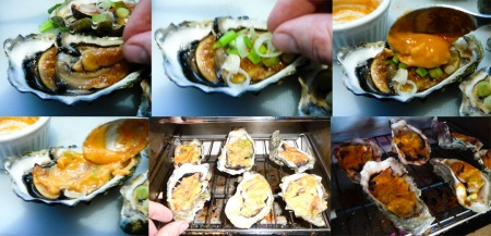 japanese oysters assemble