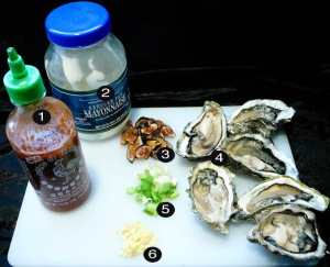 japanese oysters prep