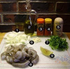 montreal shrimp prep