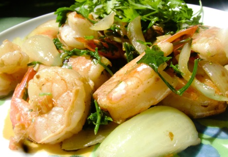 These shrimp are tres tres baba cool.  No?