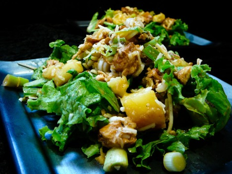 Chicken Out Your Pineapples Salad