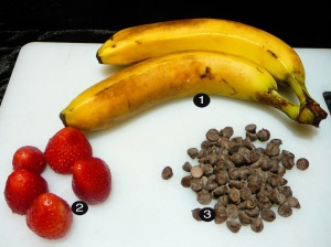 chocolate banana prep