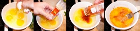 chard eggs beat