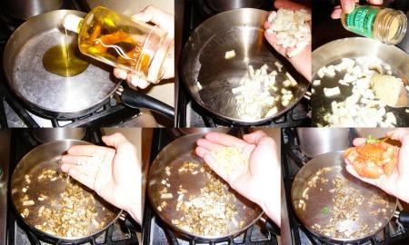 eggplant curry saute