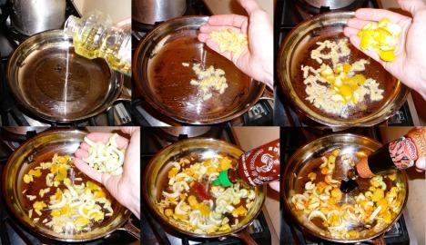 tangerine scallops flavor